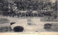 Chevreaux affrontés – Aubervilliers (fondus)