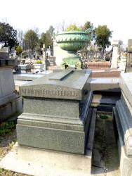 Tombe Prudhomme de la Perelle – Cimetière du Père-Lachaise – Paris (75020)