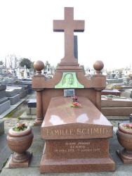 Tombe de la famille Schmid – Cimetière du Père-Lachaise – Paris (75020)