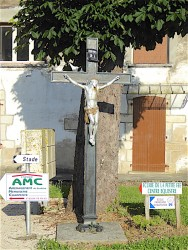 Christ  – Rue du Moulin – Souvans