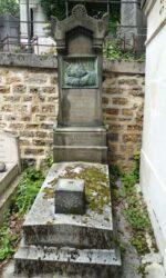 Bas-relief de la sépulture Godet – – Cimetière du Père Lachaise – Paris (75020)