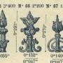 TU_DUCH_1896_PL202 - Fleurons, lances, faisceaux de lances - Image1
