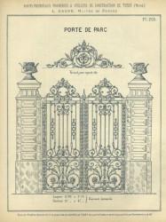 TU_DUCH_1896_PL203 – Porte de parc