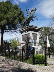 Statue équestre du général San Martin – Plaza Independencia – San Luis