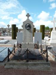 Tombe Alexandre Nouet – Cimetière Saint-Michel – Saint-Brieuc