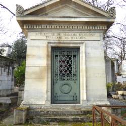 Portes et ornements – division 39 – Cimetière du Père Lachaise – Paris (75020)