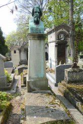 Buste d'Auguste Luchet – Cimetière du Père Lachaise – Paris (75020)