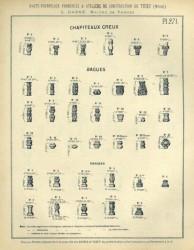 TU_DUCH_1896_PL271 – Chapiteaux creux, bagues, embases