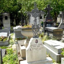 Croix de la tombe Virzi – Cimetière du Père-Lachaise – Paris (75020)
