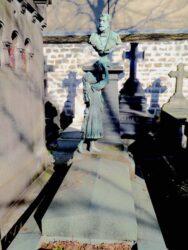 Monument au docteur André Deroide – Cimetière de Montparnasse – Paris (75014)