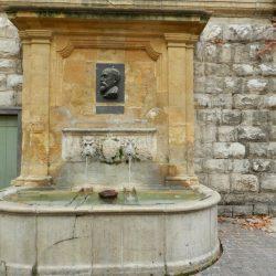 Fontaine Espéluque – Médaillon Marcel Provence – Aix-en-Provence