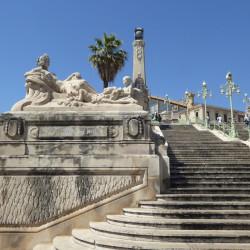 Escalier de la gare Saint-Charles – Marseille