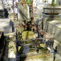 Tombe de la famille Pompé – Cimetière du Père Lachaise – Paris (75020)