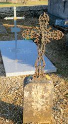 Mobilier funéraire – Cimetière – Saint-Amans – Espinas