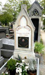 Plaque de la sépulture Delanne – Division 44 – Cimetière du Père Lachaise – Paris (75020)