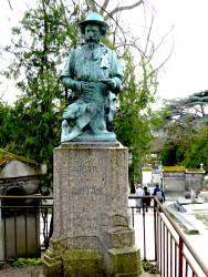 Tombe de Jean-Joseph Carriès – Cimetière du Père Lachaise – Paris (75020)