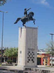 Statue équestre du général San Martin – Alta Gracia – (Córdoba)