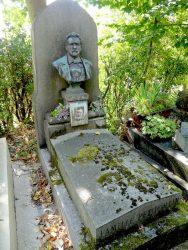 Buste de la sépulture Petitcollin – Cimetière du Père Lachaise – Paris (75020)
