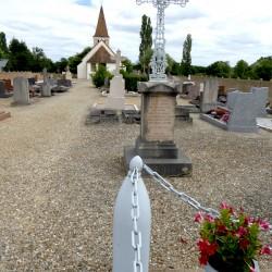 Croix de cimetière  – Saint-Martin-en-Gâtinois