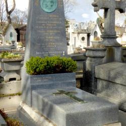 Tombe de la famille Schweitzer – Cimetière du Père Lachaise – Paris (75020)