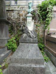 Buste de Jules Delsart – Cimetière du Père-Lachaise – Paris (75020)