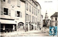 Médaillon de Jérôme Lalande  – Bourg-en-Bresse (Fondu) (remplacé)