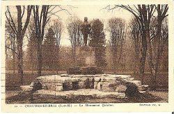 Monument à René Quinton (Fondu) – Chaumes-en-Brie