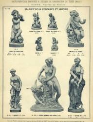 TU_DUCH_1896_PL373_08-VIII – Statues pour fontaines et jardins