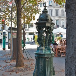 Fontaine Wallace – Bd Delessert – (75016)