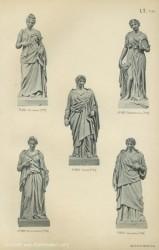 TH_1887_PL35 – Euterpe, Terpsichore, Thalie, Melpomène, Calliope