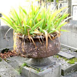 Vase de la sépulture Bornait-Legueule – Cimetière du Père Lachaise – Paris (75020)