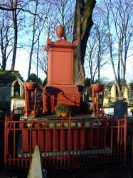 Tombe de J-F Chagot – Cimetière du Père-Lachaise – Paris (75020)