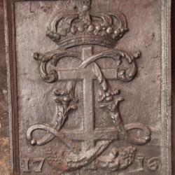 Plaque de cheminée – Château de Luneville