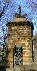 Monument Gustave Haller, Consuelo Fould – Cimetière du Père Lachaise – Paris (75020)