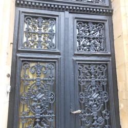 Panneaux de porte et balcon – rue Bournizet – Vouziers