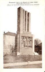 Monument à Jules Nadi (Fondu) (Remplacé) – Romans