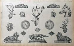 DUC_VO_PL148_F505 – Groupes et têtes d'animaux