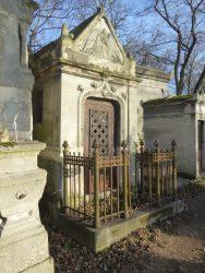 Chapelle sépulcrale des familles Briard et Voizot – Cimetière du Père-Lachaise – Paris (75020)