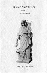 "DUR_MM_PL04 – Statue ""France victorieuse"""