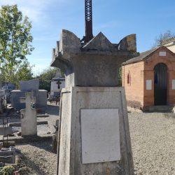 Croix funéraires – Cimetière – Sainte-Arthémie – Molières