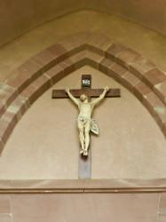 Christ en croix – église – Beugny