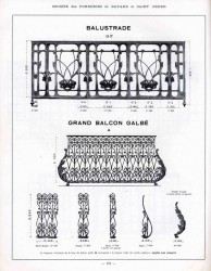 BAY_F2_PL172 – Balustrade et grand balcon galbé