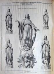 VO3_PL705 – Vierges de Lourdes et Vierge de Rome