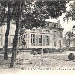 Cerf – jardin de la mairie – Maisons-Alfort (fondu)