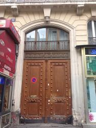 Porte d'immeuble – Bd de Strasbourg – Paris (75010)