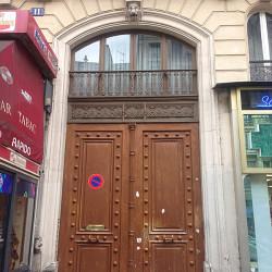 Porte d'immeuble – Bd de Strasbourg – Paris (75011)