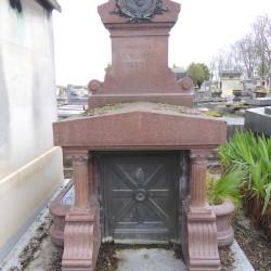 Tombe de la famille L'Homme Fleury – Cimetière du Père Lachaise – Paris (75020)