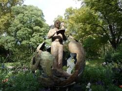 Monument Saint-Exupéry – Jardin Royal – Toulouse