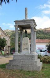 Coq gaulois – Monument aux morts –  Cassano