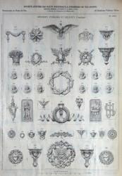 VO3_PL863 – Ornements funéraires et religieux d'applique